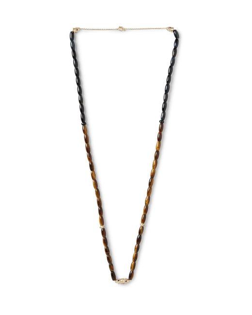 Luis Morais | Brown Multi-stone Necklace for Men | Lyst