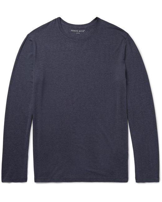 Derek Rose - Blue Stretch-micro Modal Jersey T-shirt for Men - Lyst