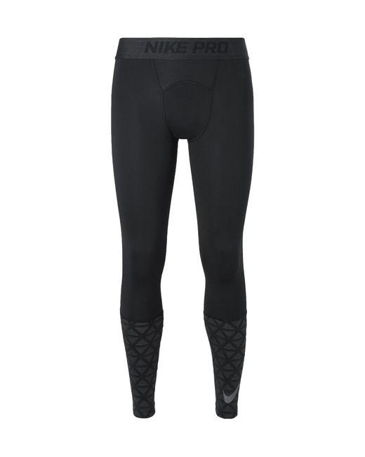 bb590d8fd8e49 Nike - Black Pro Dri-fit Therma Tights for Men - Lyst ...