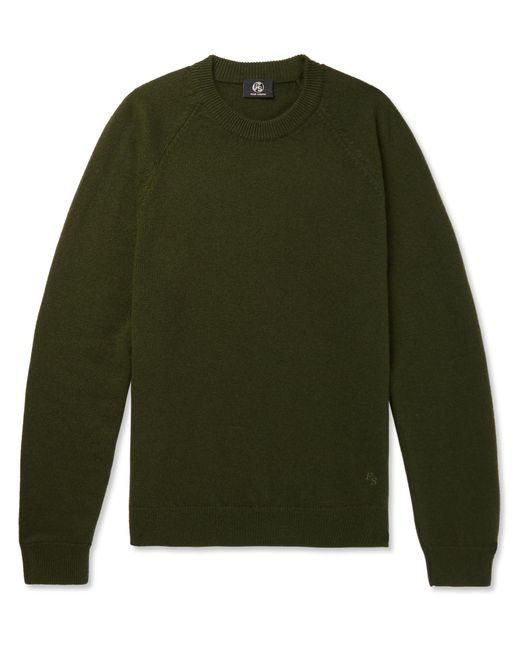 PS by Paul Smith | Green Merino Wool Sweater for Men | Lyst