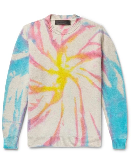 The Elder Statesman - Multicolor Tie-dyed Cashmere Sweater for Men - Lyst