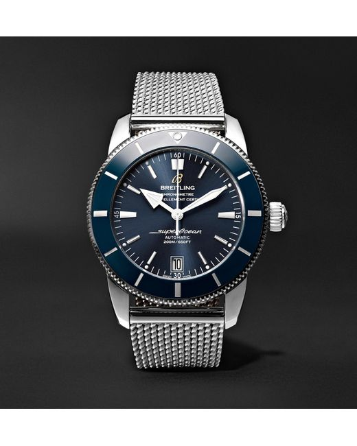 pair breitling watches the heritage soh superocean watch blog