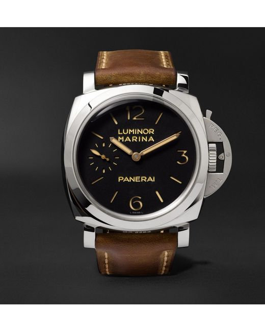 p titanium day submersible panerai watches pam s luminor