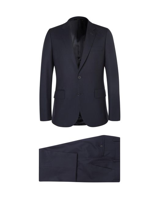 Paul Smith   Blue Navy A Suit To Travel In Soho Slim-fit Wool Suit for Men   Lyst