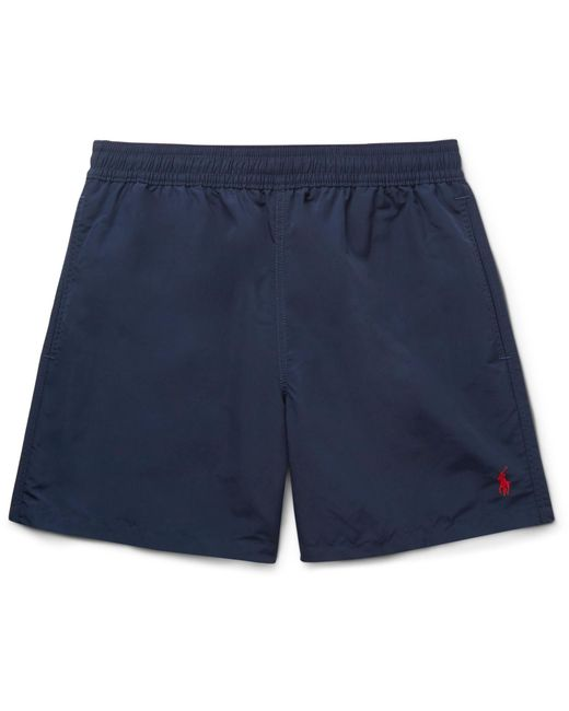 With Mastercard Hawaiian Mid-length Swim Shorts Polo Ralph Lauren Shopping Online Sale Online ieM70sf