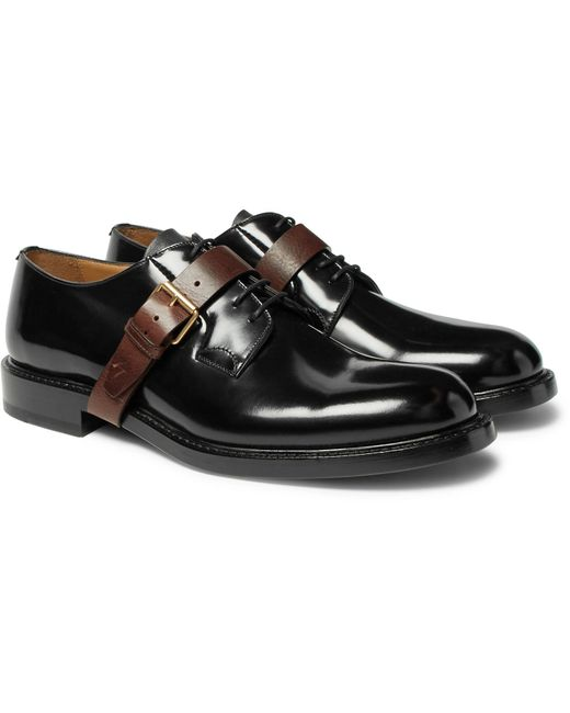 buckle oxford shoes - Black Valentino