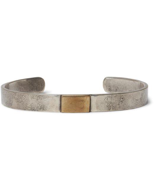 Peyote Bird   Metallic Dennis Hogan Sterling Silver Brass Cuff for Men   Lyst