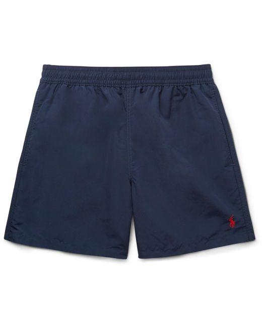 d70eaf3084 Polo Ralph Lauren - Blue Traveler Mid-length Swim Shorts for Men - Lyst