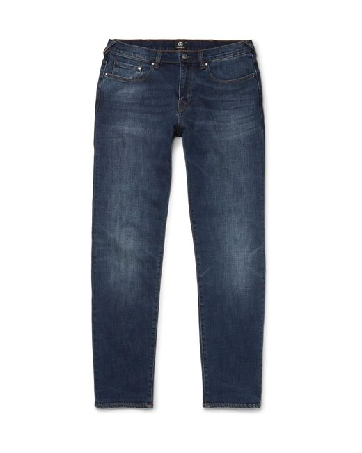 PS by Paul Smith | Blue Tapered Denim Jeans for Men | Lyst