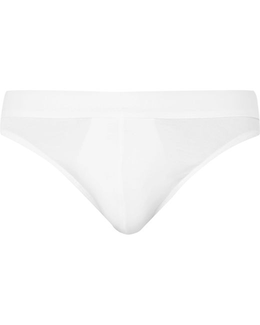 Zimmerli | White Pureness Stretch-micro Modal Briefs for Men | Lyst