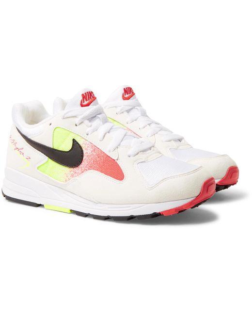 Nike - White Air Skylon Ii Felt And Mesh Sneakers for Men - Lyst