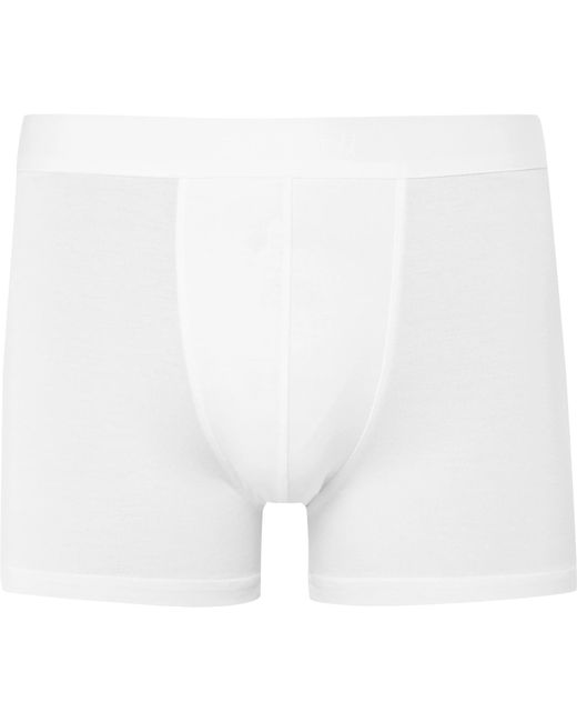 Zimmerli - White Pureness Stretch-micro Modal Boxer Briefs for Men - Lyst