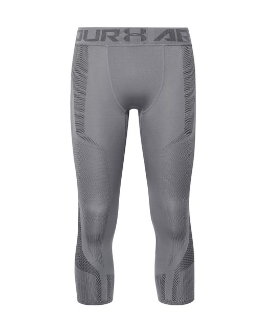 Under Armour - Gray Seamless Heatgear Compression Tights for Men - Lyst