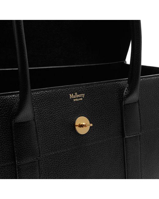 ... canada mulberry black small bayswater satchel bag lyst e9e51 b9230 1162cb8c6cc0a
