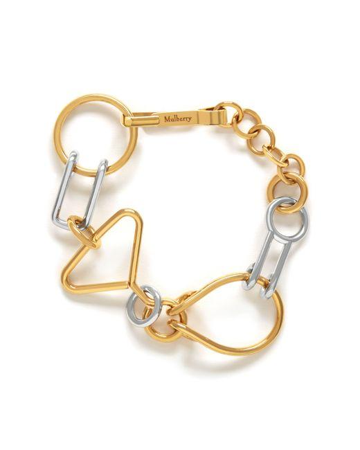 Mulberry | Metallic Riddle Bracelet | Lyst