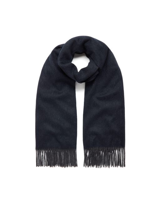 Mulberry | Blue Lambswool Scarf | Lyst