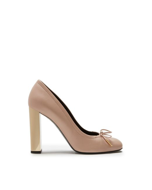 Mulberry - Multicolor Opera Pump In Rosewater Lamb Nappa Leather - Lyst