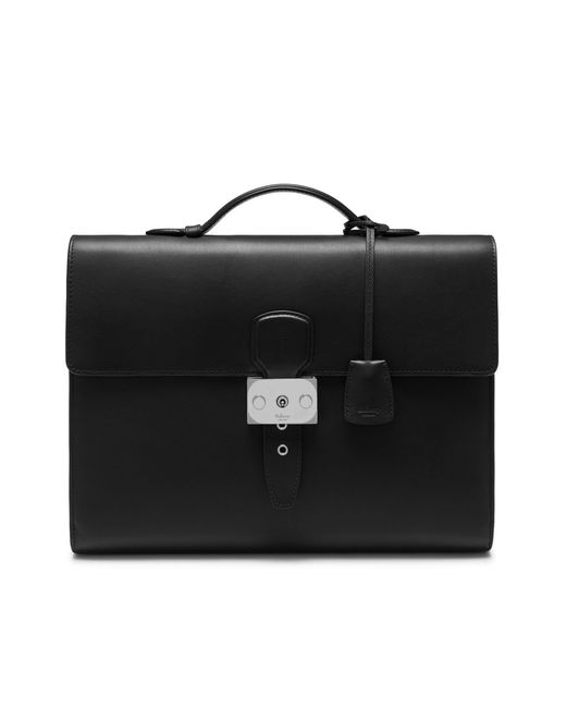 Mulberry - Rushley Folio In Black Silky Calf for Men - Lyst