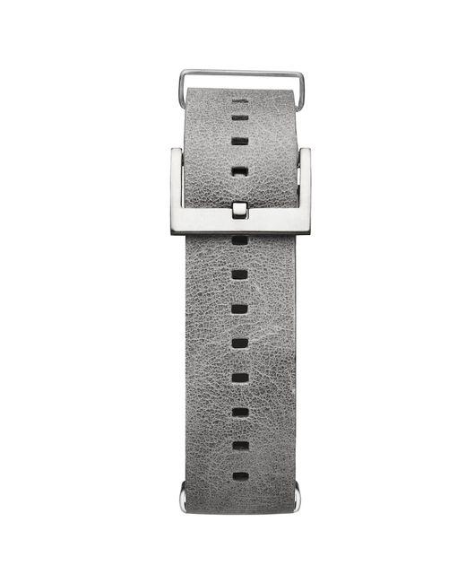 MVMT - Metallic Voyager - 21mm Light Grey Leather - Lyst