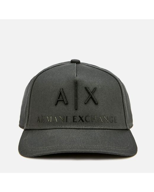 02ce63e6b17 Armani Exchange - Multicolor Logo Cap for Men - Lyst ...