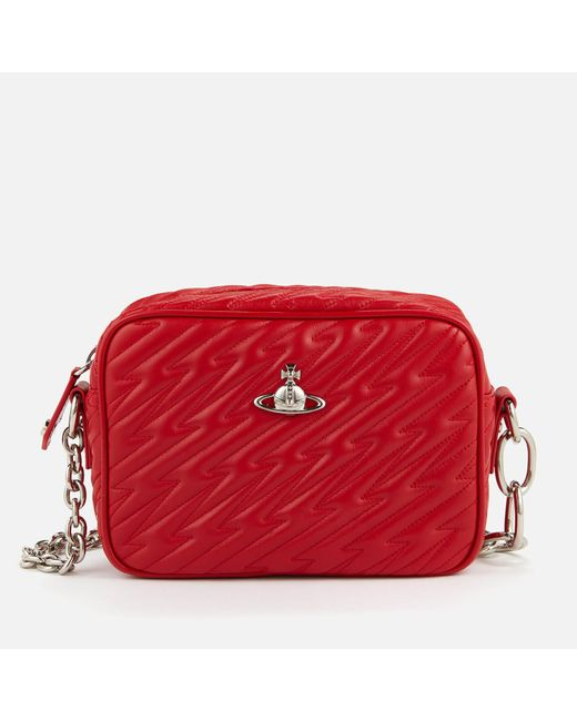 7f06d970b999 Vivienne Westwood - Red Coventry Camera Bag - Lyst ...
