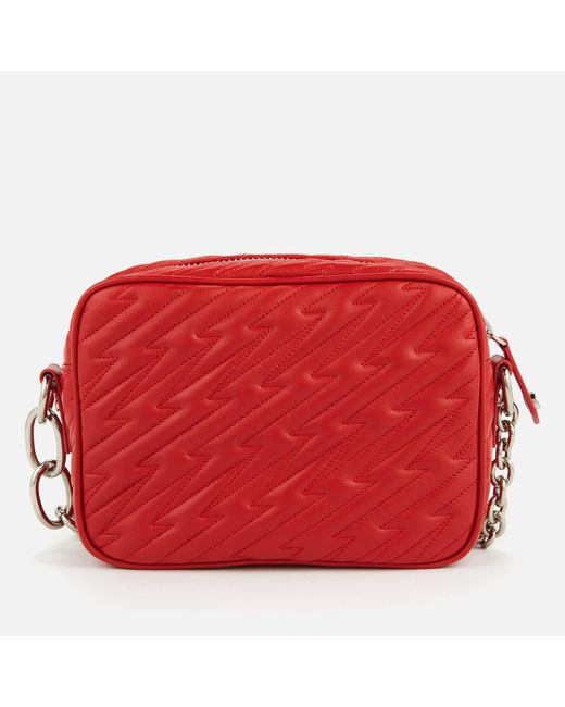 b92254fd97b5 ... Vivienne Westwood - Red Coventry Camera Bag - Lyst ...