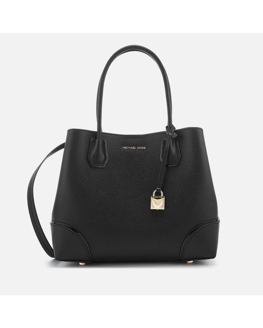 56366b2e1dde MICHAEL Michael Kors - Black Mercer Gallery Center Zip Tote Bag - Lyst ...