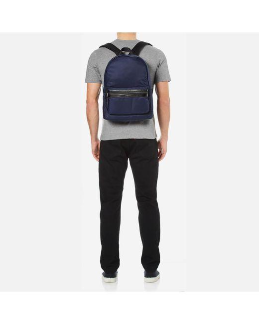 a4d7ae5618 Michael Kors Men s Kent Nylon Backpack in Blue for Men - Lyst