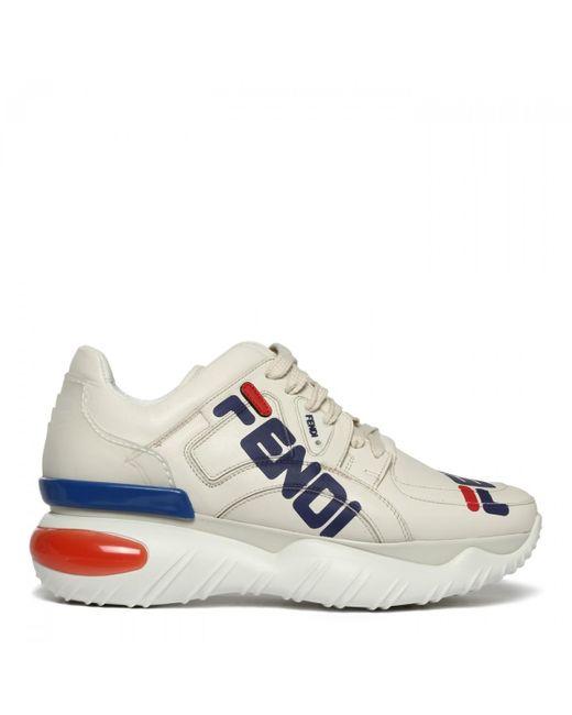 Fendi High Top Sneakers in Schwarz Lyst