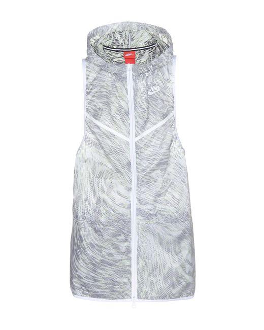 Nike | Gray Tech Hyperfuse Jacket | Lyst