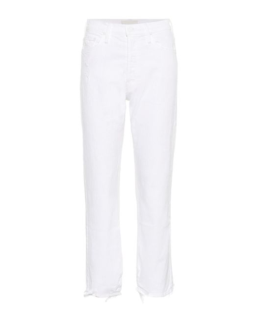 Mother - White Jeans The Tomcat - Lyst