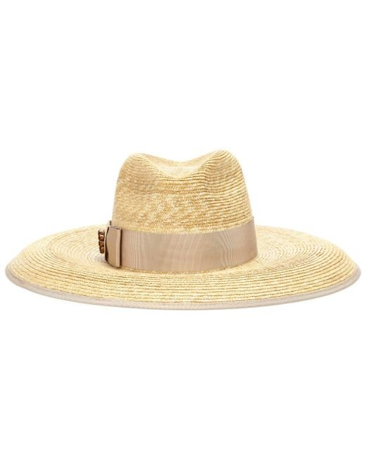 0e577a63c0f Gucci - Multicolor Wide-brim Straw Hat - Lyst ...