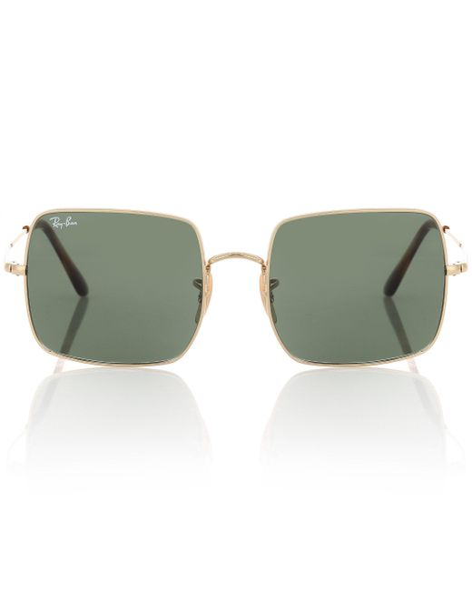 Ray-Ban Green Rb1971 Square Sunglasses