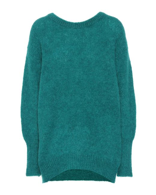 Dorothee Schumacher - Green Cosy Cool Mohair-blend Sweater - Lyst