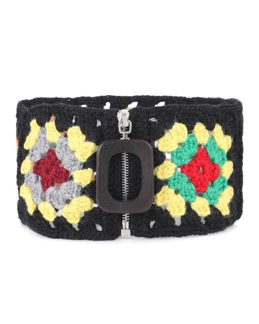 J.W. Anderson | Multicolor Crochet Wool-blend Neckband | Lyst