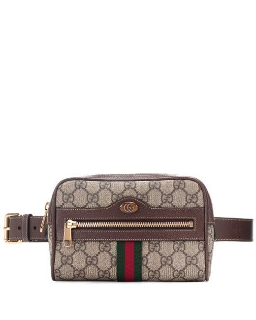 755196c2cac Gucci - Multicolor Sac ceinture Ophidia GG Supreme Small en cuir et toile -  Lyst ...