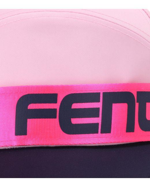 b81d4a7adc54e ... PUMA - Pink Giant Strap Baseball Hat - Lyst