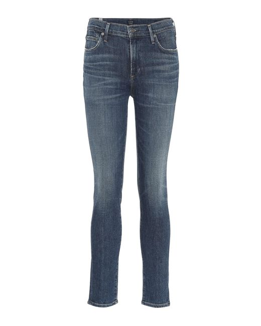 Citizens of Humanity - Blue Rocket High-rise Skinny Jeans - Lyst