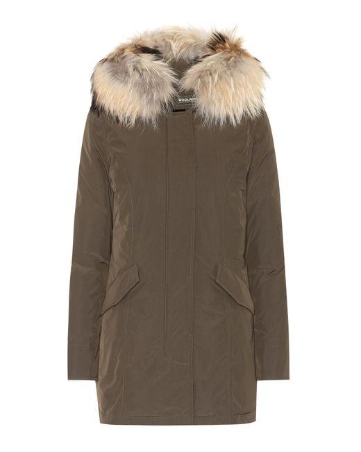 Woolrich - Green Luxury Arctic Down Coat - Lyst