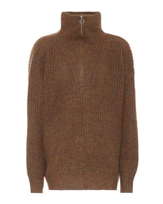 Étoile Isabel Marant | Brown Declan Oversized Sweater | Lyst