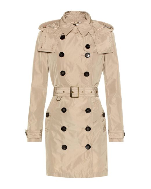 Burberry | Natural Balmoral Trench Coat | Lyst