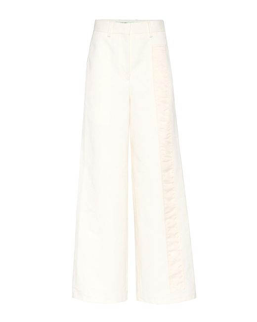Off-White c/o Virgil Abloh - White Exclusive To Mytheresa. Com – Tomboy Trousers - Lyst