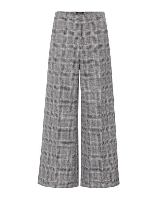 Isabel Marant - Gray Trevi Prince Of Wales Trousers - Lyst