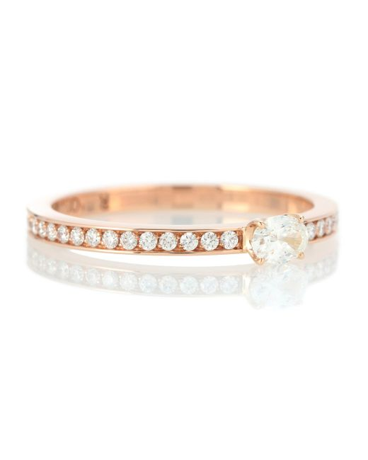 Repossi - Pink Harvest 18kt Rose Gold Ring With Diamonds - Lyst