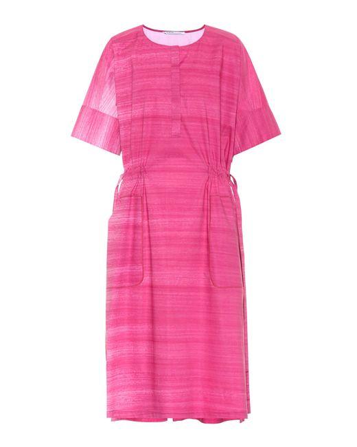 Agnona Pink Cotton Dress