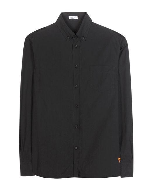 Tomas Maier - Black Cotton Shirt - Lyst