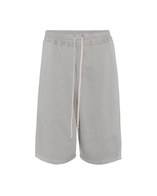 Rick Owens - Gray Drkshdw Cotton Shorts - Lyst