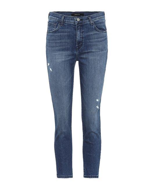J Brand - Blue Jeans Ruby aus Stretch-Baumwolle - Lyst
