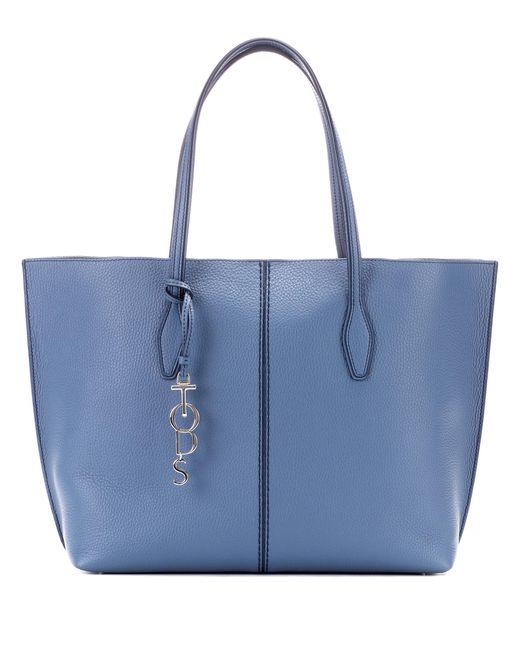 Tod's - Blue Joy Large Leather Shopper - Lyst