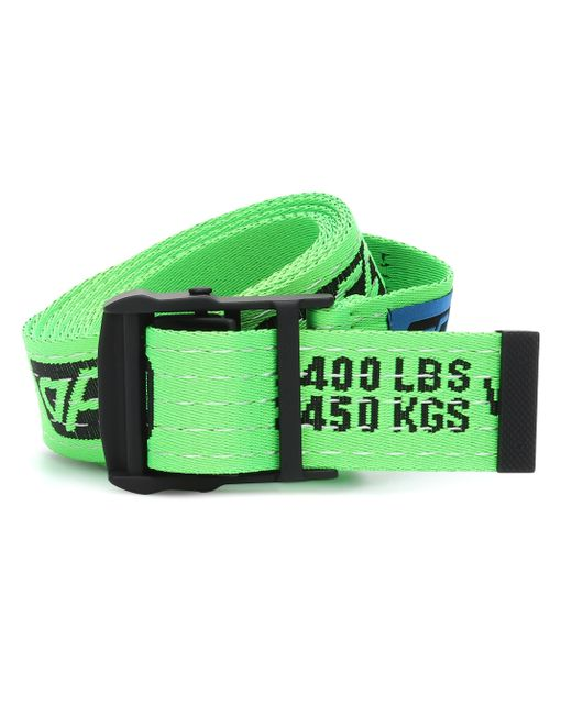 Ceinture Industrial à logo Off-White c/o Virgil Abloh en coloris Green